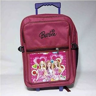 Local Brand Kids Trolly School Bag for boys and girls - Small