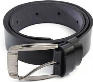 House of Leather Black Leather Belt for Men