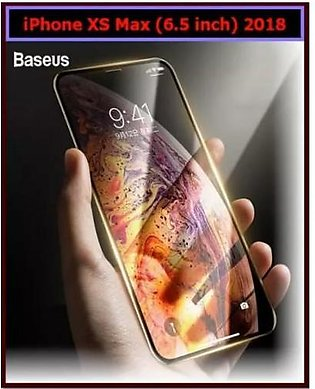 Baseus Baseus iPhone XS Max (6.5 inch) 2018 0.3mm Tempered Glass Screen Protect…