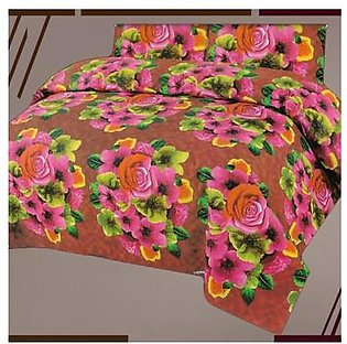 Textilish Printed Design Bed Sheet