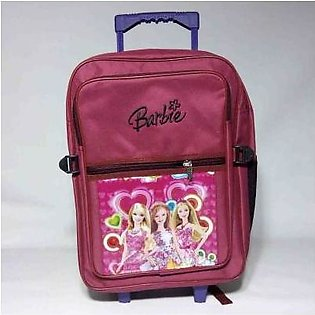 Local Brand Kids Trolly School Bag for boys and girls - Large