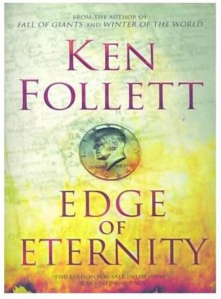 BOOK Centres- 1952 Edge Of Eternity By Ken Follett