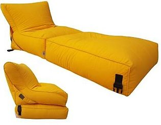 Relaxsit Relaxsit Wallow Flip Out Lounger Bean Bag Bed Chair - Fabric Sofa Bed …