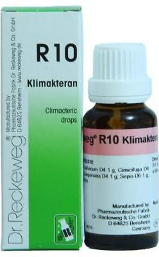 Dr Reckeweg & Co. Germany Climacteric Drops - R-10- 22ml