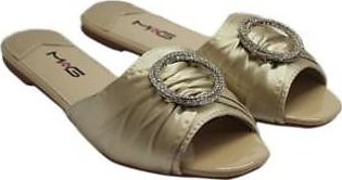 Metro Metro Shoes and Bags Casual Slippers For Women SD-82296-B Beige