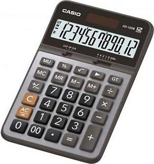 CASIO Casio Original Desktop Calculator AX-120B, 12 Digits