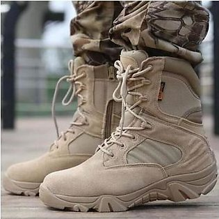Lion Delta Tactical Boots Hiking Trekking Army Hiking Sports Shoes (Original ...