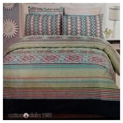 Sajalo Bed Sheet Multicolour Sajalo Bed Sheet-1050