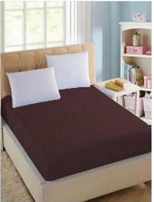 BaggyBeans Baggy Beans Fitted Sheets -Stretch Jersey Fitted Sheet - Brown