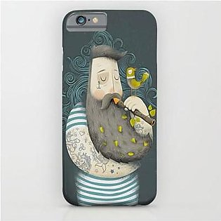 Shahjee Fat Men Art Printed Mobile Cover Oppo F9