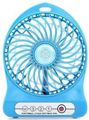 Top Shops Mini Portable USB Rechargeable Fan and Power Bank-N/A