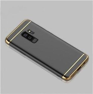 Khalid Accessories 3 In 1 Protective Black/Gold Case For Galaxy S9 Plus