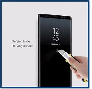 MISC Mobiles Samsung Galaxy Note 9 Full Glue 3D Tempered Glass Screen Protect...