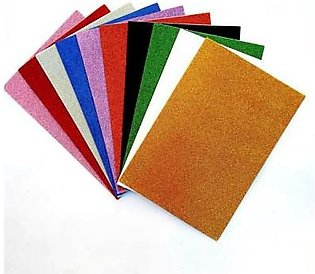 Shapes Pack of 10-Glitter Fomic Sheets