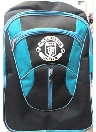 M Toys Sports & Stationers Manchester United High Quality Blue & Black Fabric...