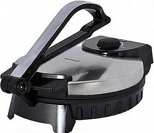 HS COSMO Roti Maker Stainless Steel Non-Stick Electric Maker-08 Inch-Black & ...