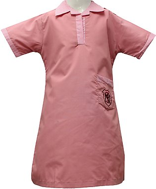 Liberty Uniforms Trinity Methodist School Uniform for Girls Pink Frock Half S...
