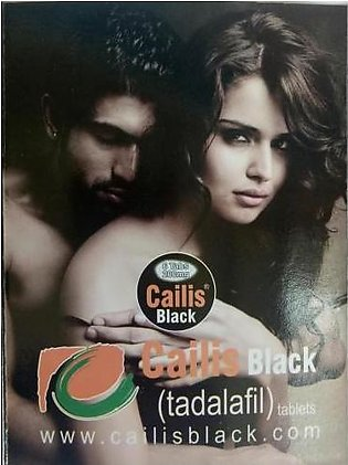 Dynamic Cailis Black 200 mg Sex Timing for Men ( 6 Tablet)