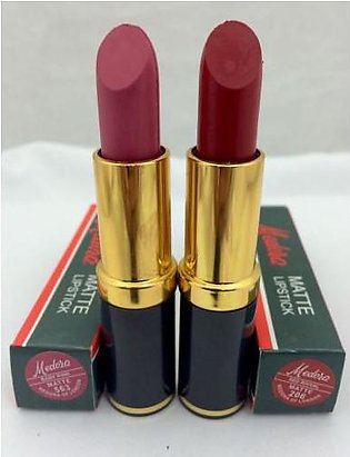 Medora Lipsticks MEDORA PACK OF 2 LIPSTICK SET 1 DARK Or 1 LIGHT SHADES FULL SI…