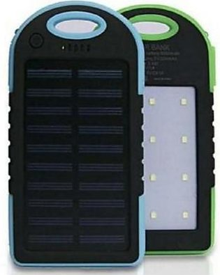 The Collab Shop Solar Power Bank 3000Mah Portable Mobile Charger