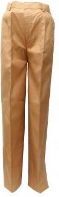 Liberty Uniforms Habib Public Boys School Uniform Fawn Elastic Pant