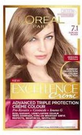 Loreal Loreal Excellence Cream Hair Color 7.1