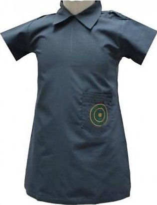 Liberty Uniforms St. Patrick's Girls High School Uniform Grey Frock Half Slee...