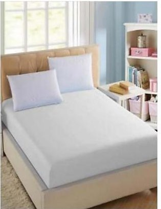BaggyBeans Baggy Beans Fitted Sheets -Stretch Jersey Fitted Sheet - White