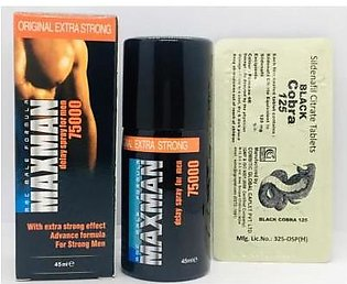 - Maxman delay spray Best for men timing with free timing tablet
