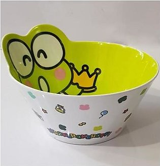 Charji Shop Cartoon Pattern Tableware Food Grade Melamine Anti Knock Big Bowl