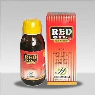 Herbal Red oil (Pain Relief) 2 oz Bottle