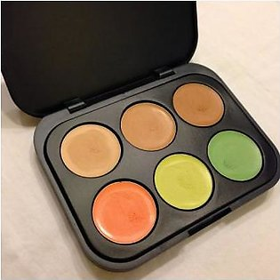 BH Cosmetics BH COSMETIC CONCEALER & CORRECTOR - LIGHT 6 COLOR PALETTE