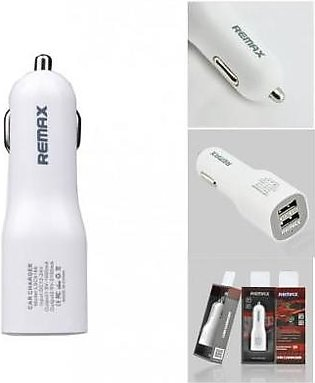 Remax 2.1A USB Car Charger Remax White