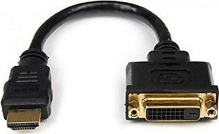 China Factory Made BRANDED HDMI MALE TO DVI FEMALE ADAPTER - 8PIN - DVI-D CABLE