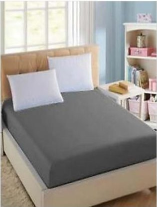 BaggyBeans Baggy Beans Fitted Sheets -Stretch Jersey Fitted Sheet - Dark Grey