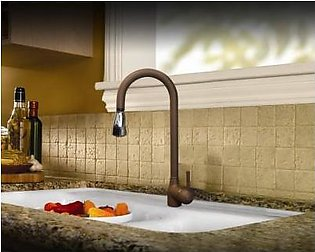 STEELINE 590-GR Rame 72 (G) Kitchen Faucet With Pull-out Shower (Made In Italy)
