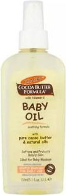 Palmers Palmers Pure Cocoa Butter & Natural Baby Oil 150ml