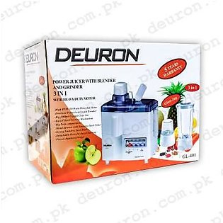 Deuron Juicer Blender 3 in 1 - GL401