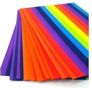 Shapes Pack of 10 - Rainbow Fomic Sheets