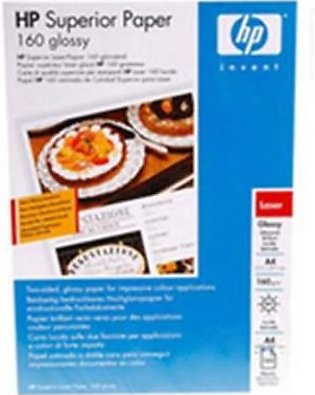 HP A4 Superior Glossy Photo Paper for Laser Printer-Q6616A