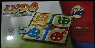 M Toys Sports & Stationers Super Quality 4-player Folding Magnetic Ludo game - …