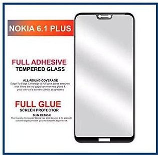 MISC Mobiles 6D Tempered Glass Screen Protector Full Edge Cover For Nokia 6.1 P…