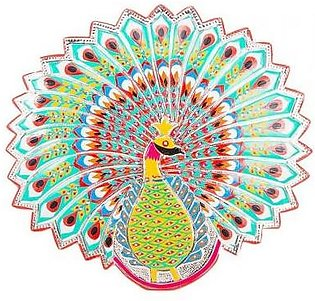 Fashion Cafe 17x15''-Peacock Truck Art Wall-Mount Decoration Piece