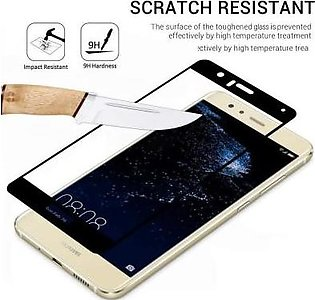 MISC Mobiles 3D Tempered Glass Screen Protector Full Cover For Huawei P10 Lite-…