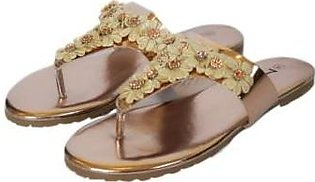 Metro Metro Shoes and Bags Fancy flat slipper For Women S923 Fawn