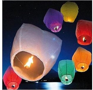 Top Shops Pack Of 10 Flying Sky Lanterns For Events