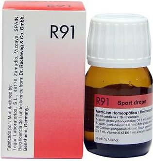Dr Reckeweg & Co. Germany Stamina Booster drops- R-91- 30 ml