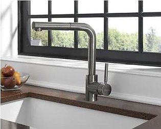 STEELINE 7740-SS Kitchen Faucet With Hand Shower (Made In Italy)