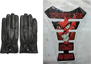 Mehdi Traders Rider Leather Gloves
