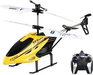 Variety Store 2 Channel Flying Helicopter-Yellow-Remote Control